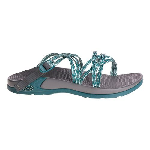 Womens Chaco Wrapsody X Sandals Shoe - Key Teal 5