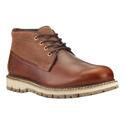 Mens Timberland Britton Hill Waterproof Clean Chukka Casual Shoe - Medium Brown/Nubuck 8.5