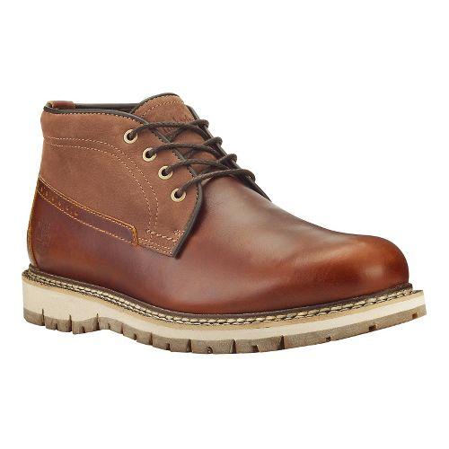 Mens Timberland Britton Hill Waterproof Clean Chukka Casual Shoe - Medium Brown/Nubuck 9