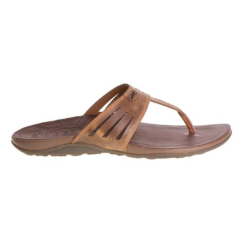 Womens Chaco Sansa Sandals Shoe - Dark Earth 8