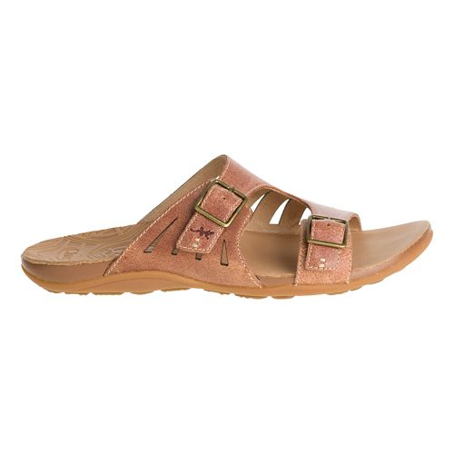 Womens Chaco Dharma Sandals Shoe - Adobe 7