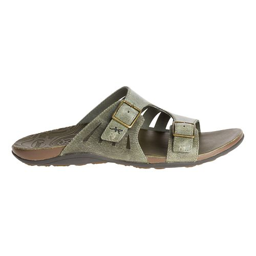 Womens Chaco Dharma Sandals Shoe - Dark Olive 7