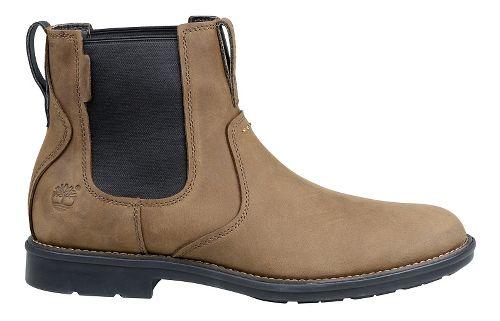 Mens Timberland Carter Notch Plain Toe Chelsea Casual Shoe - Olive Full Grain 9.5