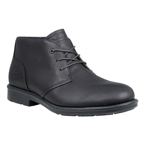 Mens Timberland Carter Notch Waterproof Plain Toe Chukka Casual Shoe - Black Full Grain 8.5 ...