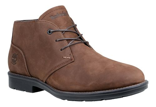Mens Timberland Carter Notch Waterproof Plain Toe Chukka Casual Shoe - Medium Brown 8