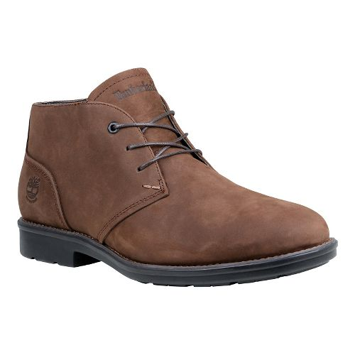Mens Timberland Carter Notch Waterproof Plain Toe Chukka Casual Shoe - Medium Brown 8.5