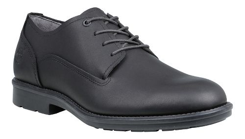 Mens Timberland Carter Notch Waterproof Plain Toe Oxford Casual Shoe - Black Full Grain 9