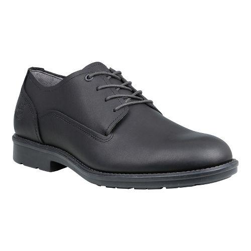 Mens Timberland Carter Notch Waterproof Plain Toe Oxford Casual Shoe - Black Full Grain 8 ...