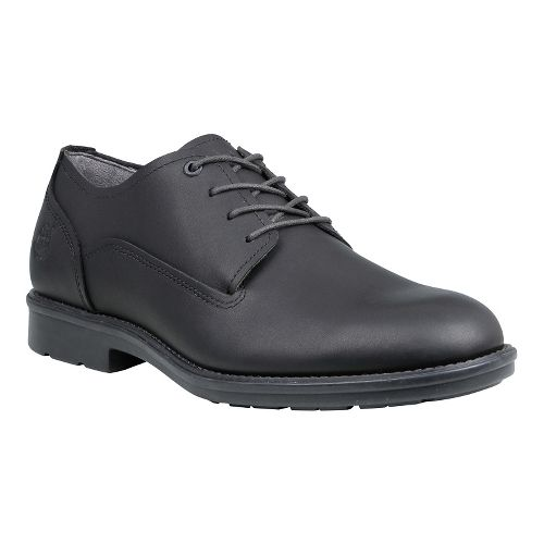 Mens Timberland Carter Notch Waterproof Plain Toe Oxford Casual Shoe - Black Full Grain 8.5 ...