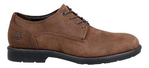 Mens Timberland Carter Notch Waterproof Plain Toe Oxford Casual Shoe - Medium Brown 10.5