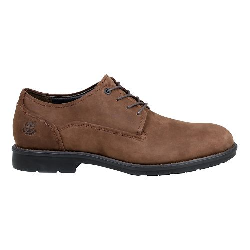 Mens Timberland Carter Notch Waterproof Plain Toe Oxford Casual Shoe - Medium Brown 10