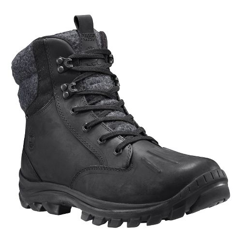 Mens Timberland Chillberg Waterproof Insulated Casual Shoe - Black Full Grain 8.5