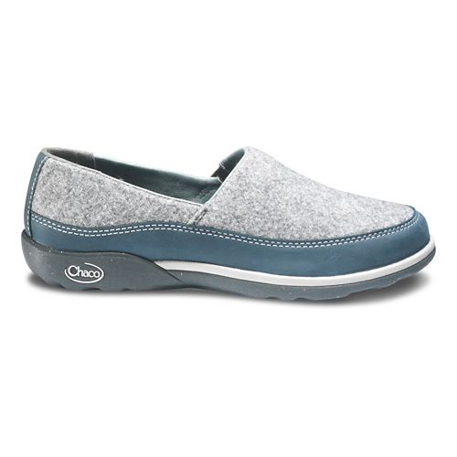 Womens Chaco Sloan Casual Shoe - Blue Steel 10