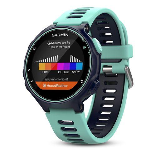 Garmin Forerunner 735XT GPS Running Watch with HRM Monitors - Midnight/Frost Blue