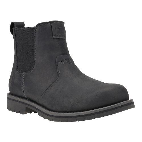 Mens Timberland Grantly Chelsea Casual Shoe - Black Full Grain 8
