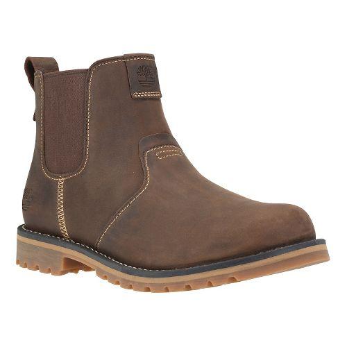 Mens Timberland Grantly Chelsea Casual Shoe - Dark Brown 10