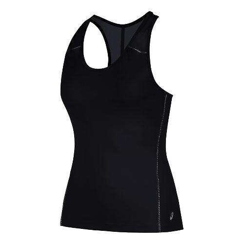 Womens ASICS Lite-Show Bra Sleeveless & Tank Technical Tops - Performance Black S
