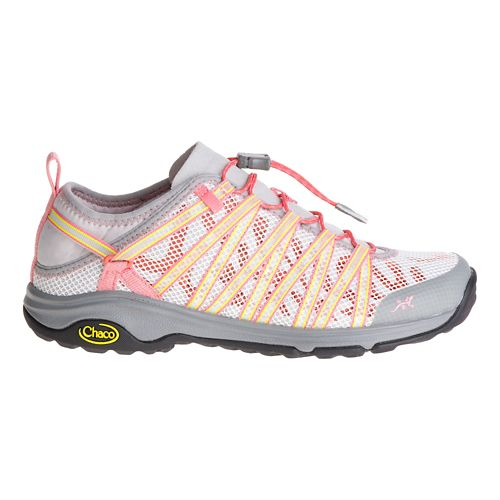 Womens Chaco Outcross EVO 1.5 Hiking Shoe - Grapefruit 9
