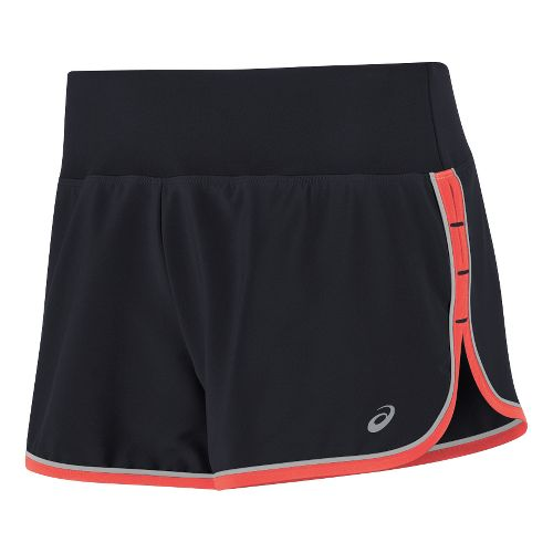 Womens ASICS Lite-Show Shorts - Performance Black XS