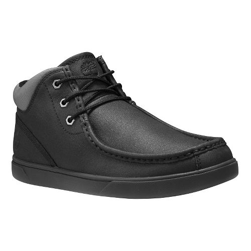 Mens Timberland Groveton Moc Toe Chukka Casual Shoe - Black Full Grain 13