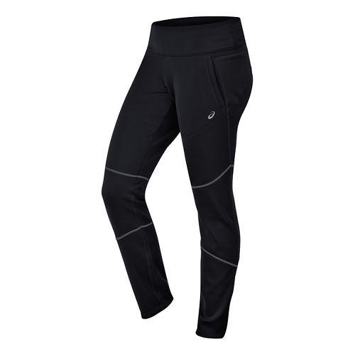 Womens ASICS Thermal XP Slim Pants - Performance Black S