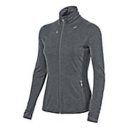 Womens ASICS Thermopolis Full Zip Jacket Long Sleeve Technical Tops