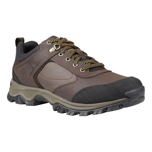 Mens Timberland Mt. Maddsen Low Hiking Shoe - Dark Brown Oiled 10