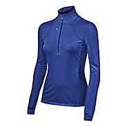 Womens ASICS Thermopolis 1/2 Zip Technical Tops