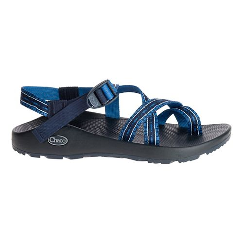 Mens Chaco Z/2 Classic Sandals Shoe - Paved Blue 9