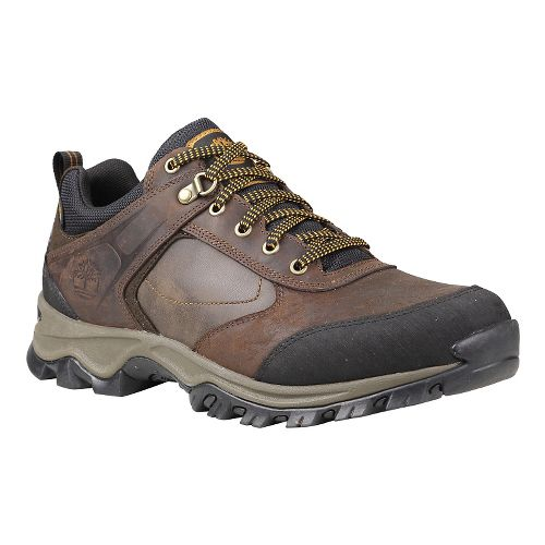 Mens Timberland Mt. Maddsen Low Waterproof Hiking Shoe - Dark Brown Oiled 11