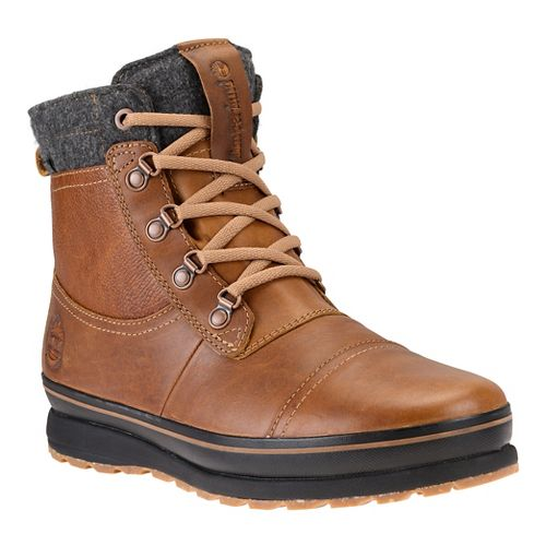 Mens Timberland Schazzberg Mid Waterproof Insulated Casual Shoe - Medium Brown 8
