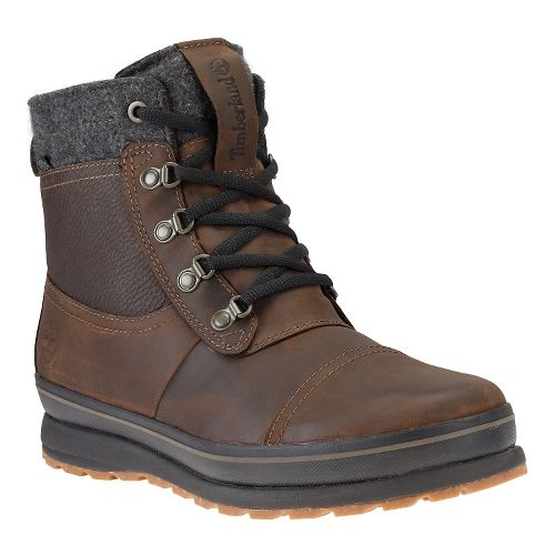 Mens Timberland Schazzberg Mid Waterproof Insulated Casual Shoe - Dark Brown 9