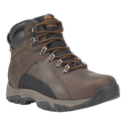 Mens Timberland Thorton Mid Waterproof Insulated Warm Lined Casual Shoe - Dark Brown Oiled 8 ...