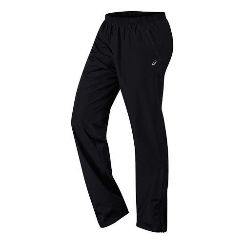 Womens ASICS Storm Shelter Pants - Performance Black S