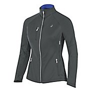 Womens ASICS Softshell Jacket Hoodie & Sweatshirts Technical Tops