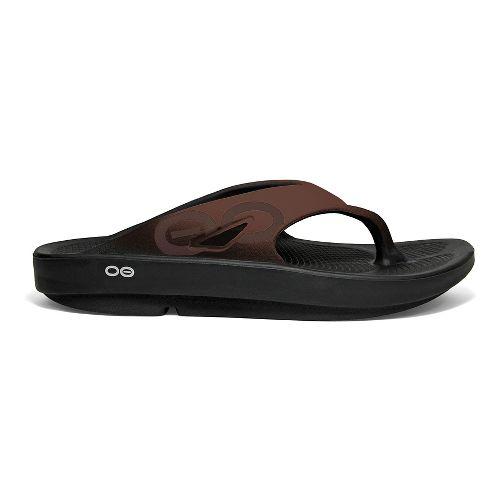OOFOS OOriginal Sport Sandals Shoe - Brown 3