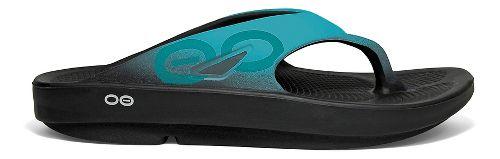 OOFOS OOriginal Sport Sandals Shoe - Aqua 8