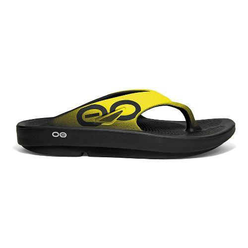 OOFOS OOriginal Sport Sandals Shoe - Yellow 7