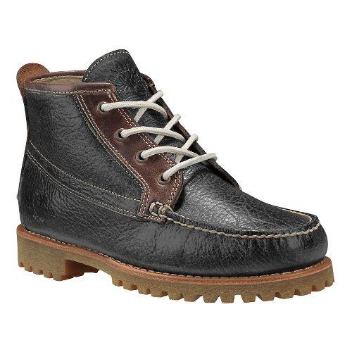 Mens Timberland Authentics Chukka Casual Shoe - Dark Grey Full Grain 8
