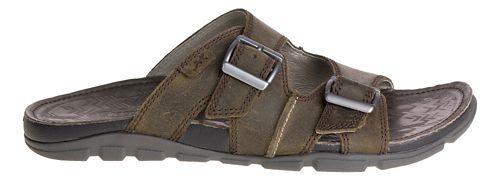 Mens Chaco Elias Sandals Shoe - Brindle 9