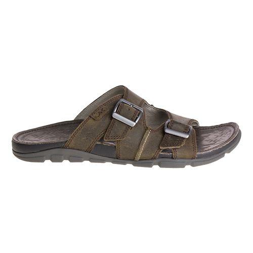Mens Chaco Elias Sandals Shoe - Brindle 10