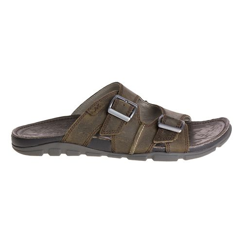 Mens Chaco Elias Sandals Shoe - Brindle 7