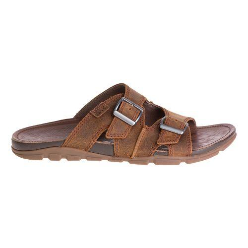 Mens Chaco Elias Sandals Shoe - Pinecone 11