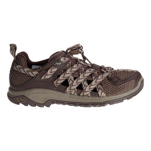 Mens Chaco Outcross EVO 1 Hiking Shoe - Brown 10
