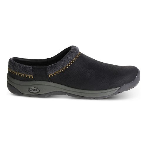 Mens Chaco Zealander Casual Shoe - Black 14