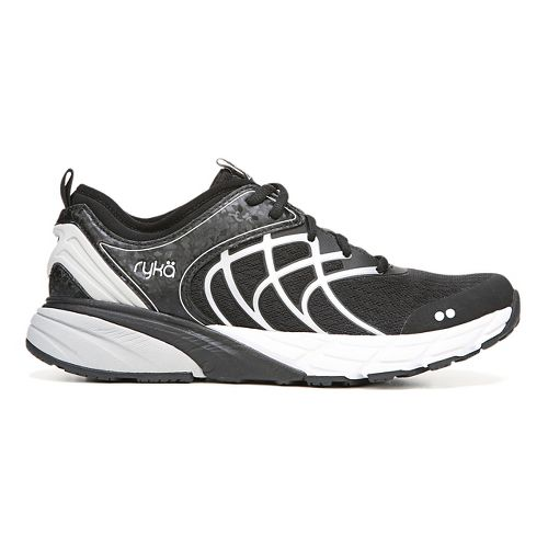 Womens Ryka Nalu Running Shoe - Black/White 8.5