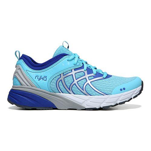 Womens Ryka Nalu Running Shoe - Blue/Silver 7