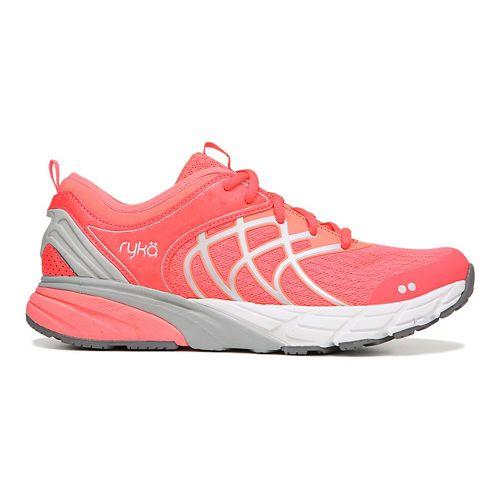Womens Ryka Nalu Running Shoe - Coral/Silver 6.5