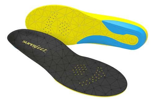 Superfeet FLEXthin Insoles - Black/Yellow E