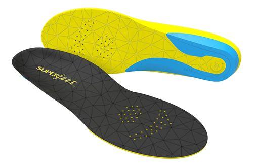 Superfeet FLEXthin Insoles - Black/Yellow F